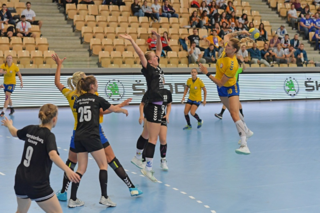 EUC Handball 2019 action 2