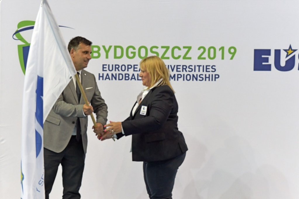 Closing ceremony at EUC Handball 2019
