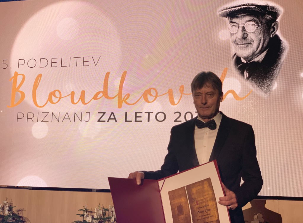 Mr Milan Zvan, recipient of Bloudek Award 2019