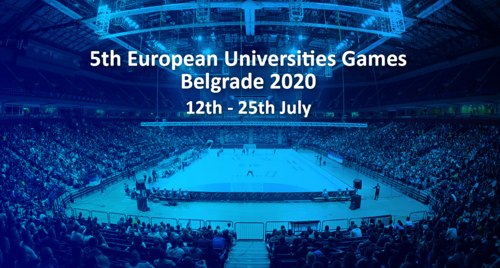Belgrade, Serbia will host the 5th European Universities Games in 2020