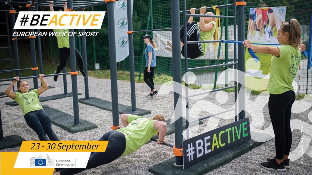 European Week of Sport #BeActive