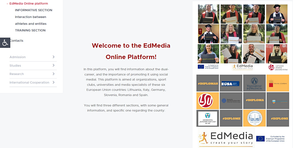 Edmedia platform