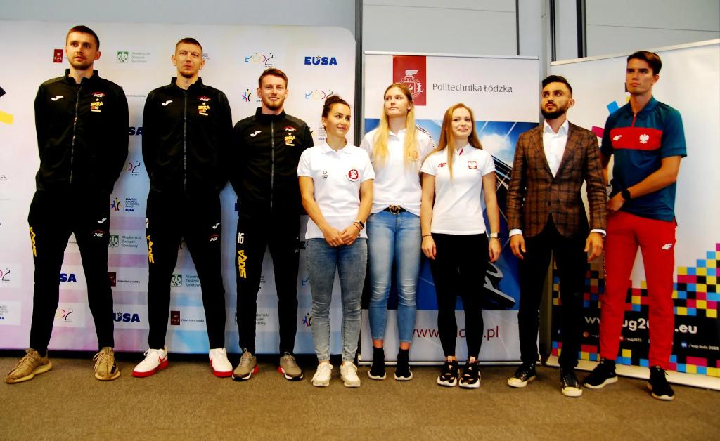 Ambassadors of the European Universities Games Lodz 2022
