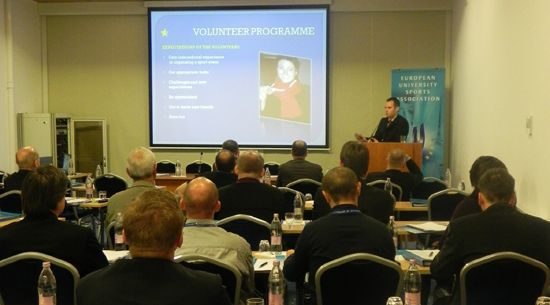 Volunteer Programme presentation by Mr Andrej Pisl