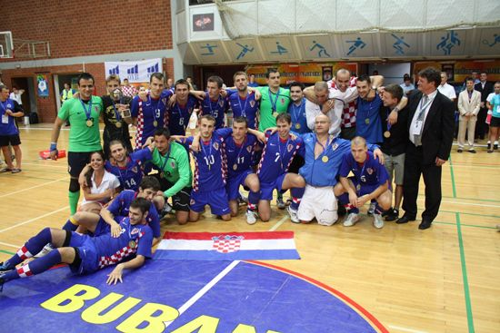 Champions - men: University of Zagreb