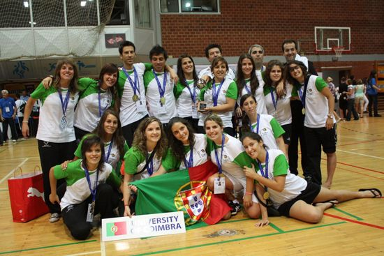 Champions - women: University of Coimbra