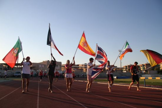Closing ceremony - flags