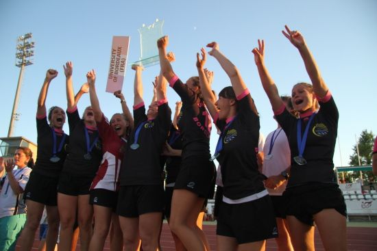 Winning female team - University of Bordeaux