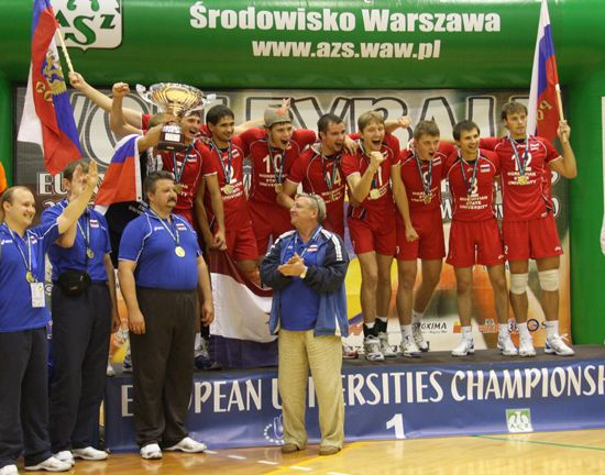 Winners - men: Mordovskiy State University