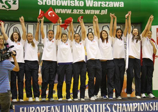 Winners - women: Bahcesehir University
