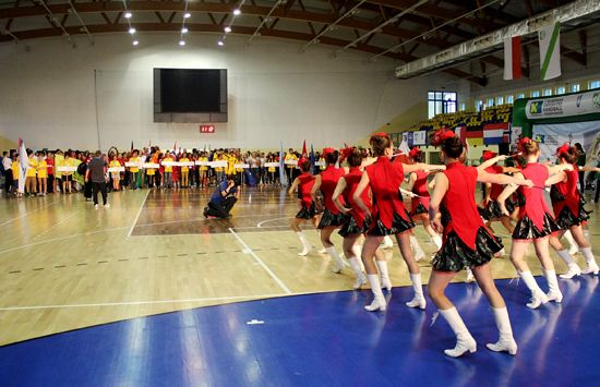 From the Opening ceremony of a European Universities Championship