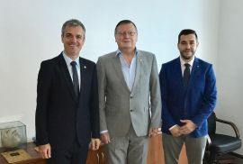 CEV and EUSA discuss cooperation on Volleyball and Beach Volleyball