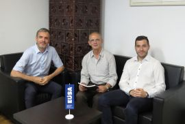 EUSA visited by member from Albania