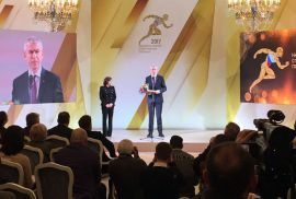 FISU President receives Sport Solidarity Award