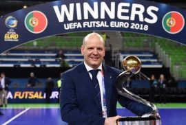 "Jorge Braz: ""University futsal is an excellent step for every athlete"