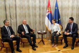 EUSA meets the Prime Minister of Serbia