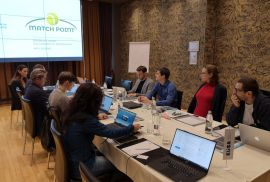 Match Point project partners meet in Slovenia