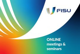 FISU hosts online meetings and seminars with CUSFs